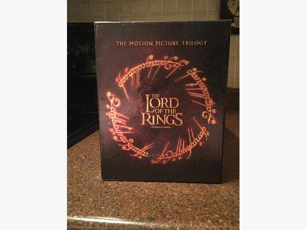 The Lord of the Rings Trilogy set
