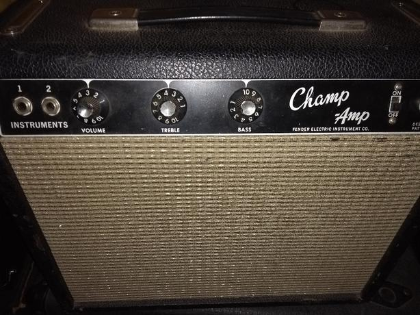 1965 Fender champ