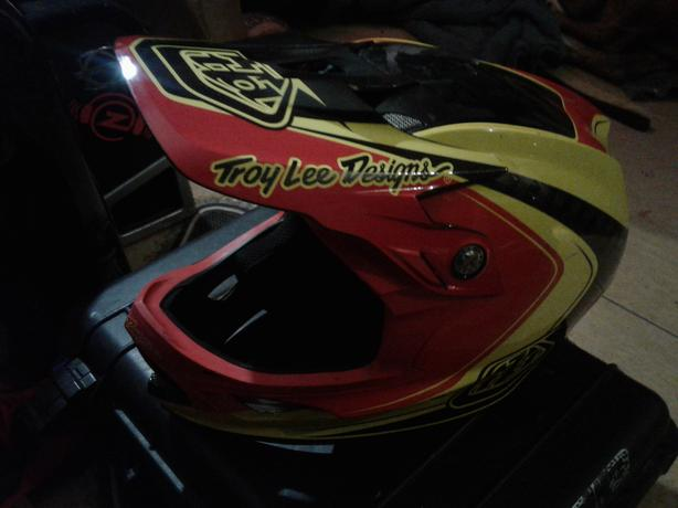 Troy Lee designs motocross helmet