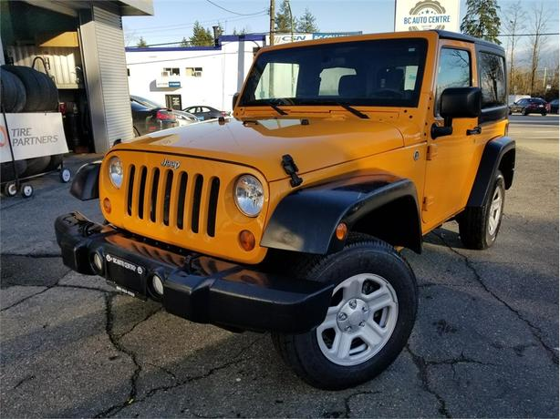 2012 Jeep Wrangler SPORT, HARDTOP 4X4 MANUAL