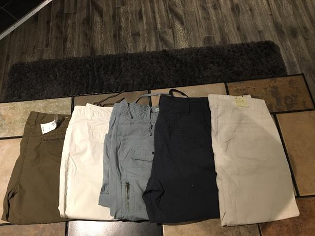 ***REDUCED - Cleo Women's Size 12 Pants, Capris & Shorts LOT For Sale