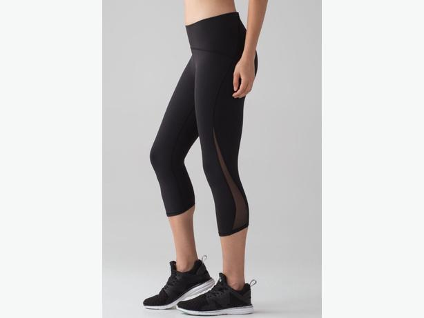 New with Tags - Lululemon Train Times Crop size 4