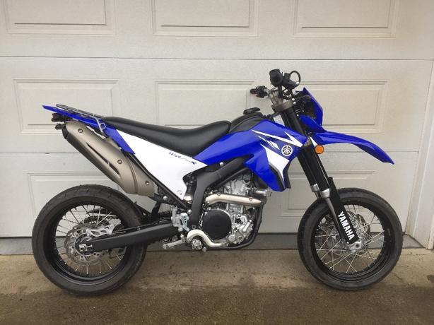 2009 Yamaha WR 250 X street motorcycle