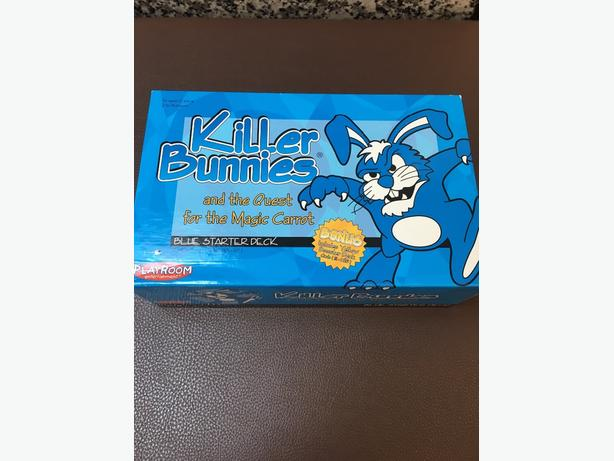 Killer Bunnies card game complete