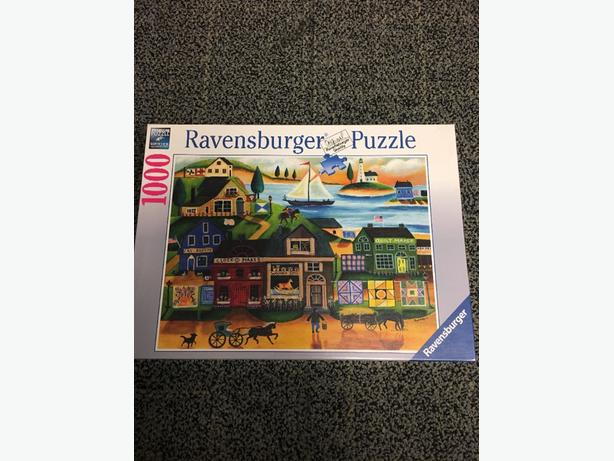 Ravensburger 1000 piece puzzle new in shrink wrap
