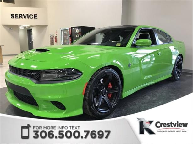 2017 Dodge Charger SRT Hellcat 6.2L | Sunroof | Navigation