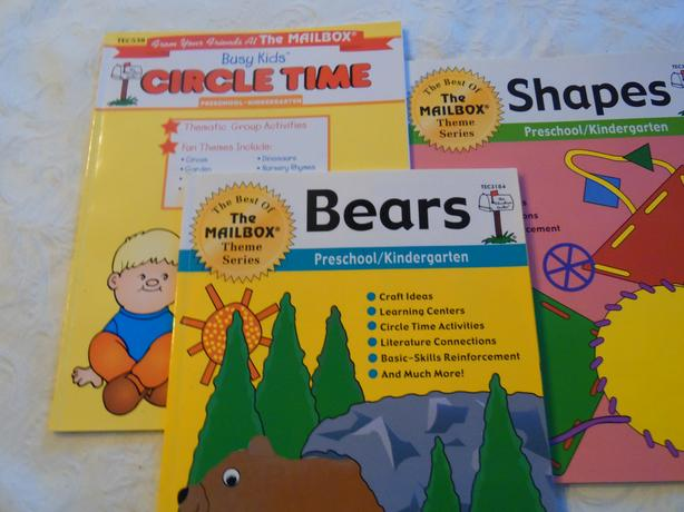 Preschool-K Teaching Resource Books