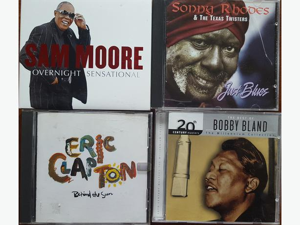CDs FOR SALE BLUES JAZZ CDs PERFECT CONDITION COMPLETE