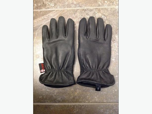 NEW Watson brand Women's Leathwr Gloves, size 8 (Large)