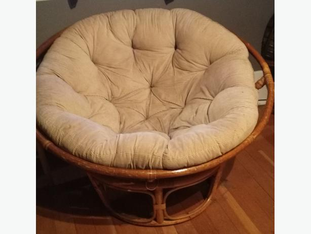 Papasan Chair & Cushion