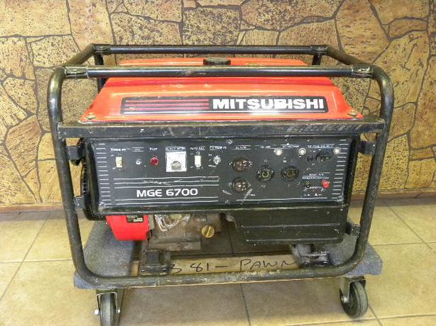 Mitsubishi 6700 Watt generato