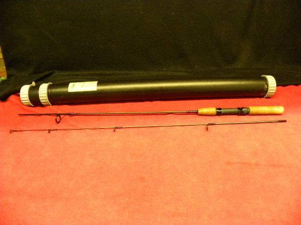 Shimano 2 piece rod in case