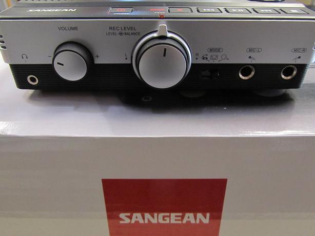 Sangean SD card MP3 recorder