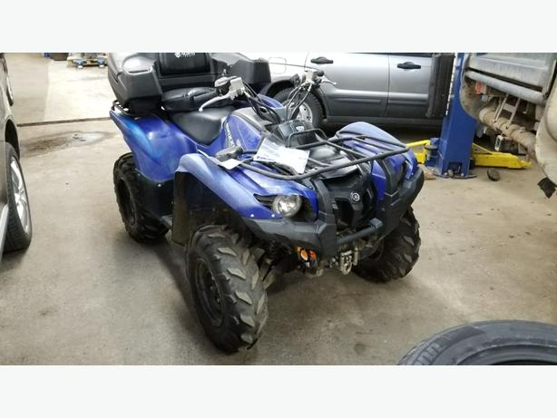 2014 grizzly 700 quad 4x4