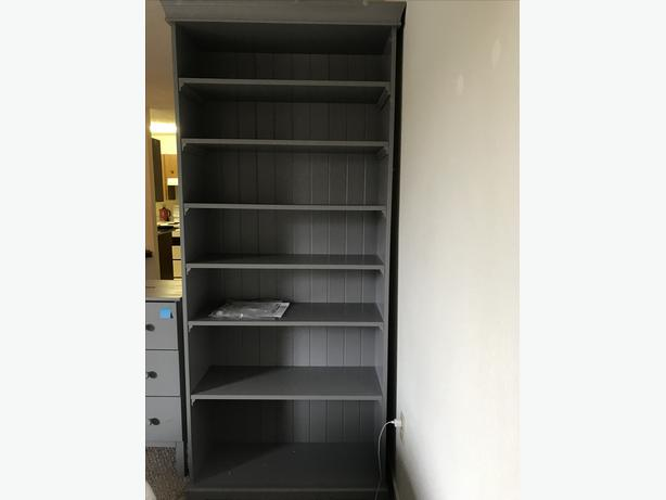 Ikea bookcase and dresser set
