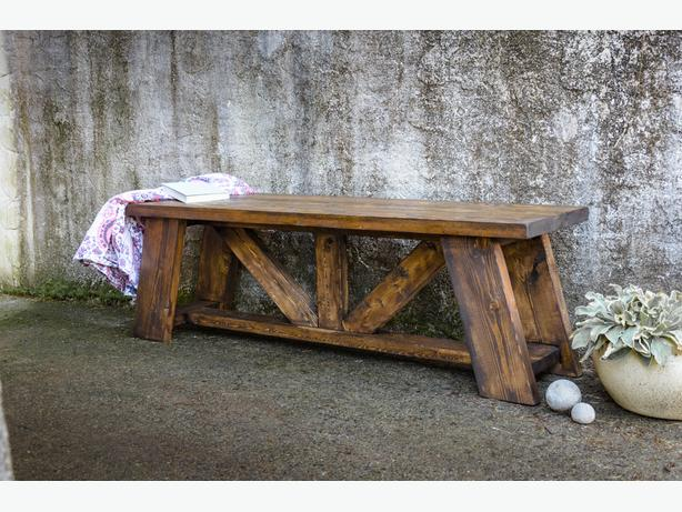 Queen Truss Bench
