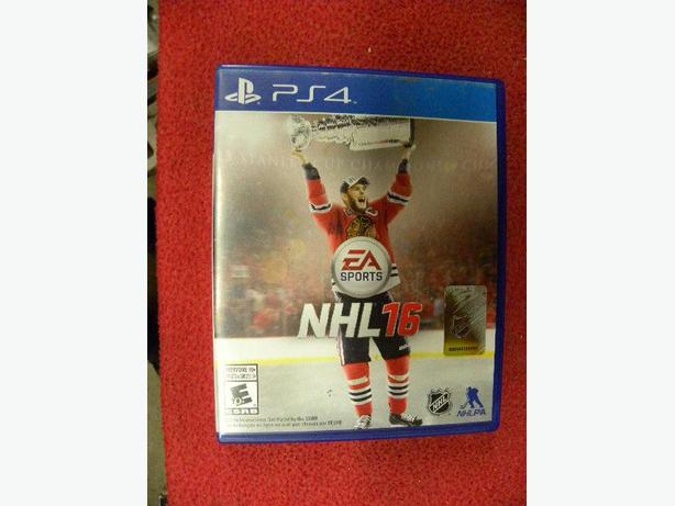 NHL 16 for the PS4 game console