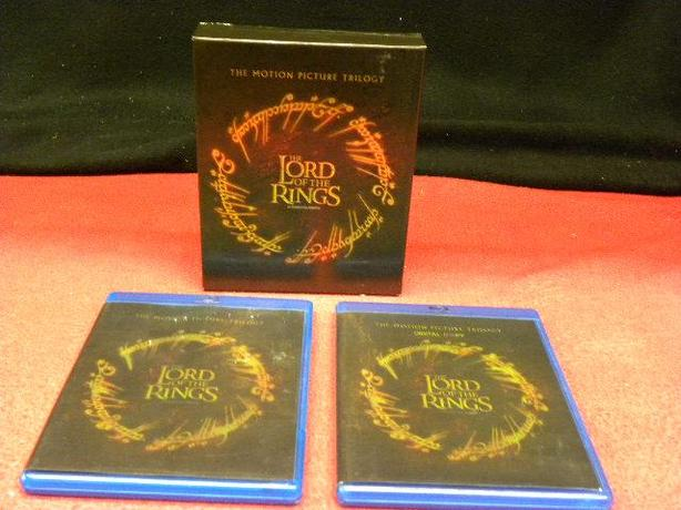 The Lord Of The Rings Trilogy on Blu ray
