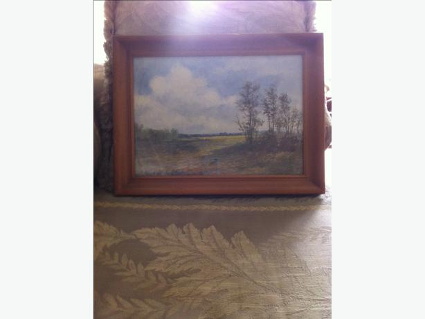WH Schmalz Original Landscape signed and dated