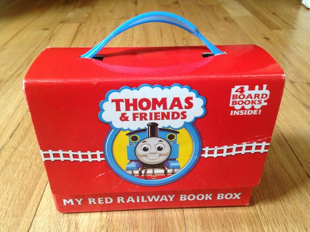 4 Thomas board books