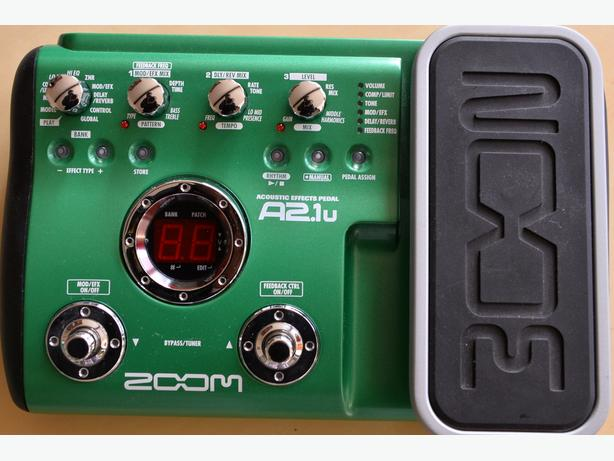 Zoom Acoustic Effects Pedal A2.1u