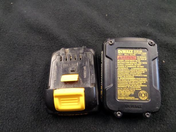 12 volt dewalt batteries