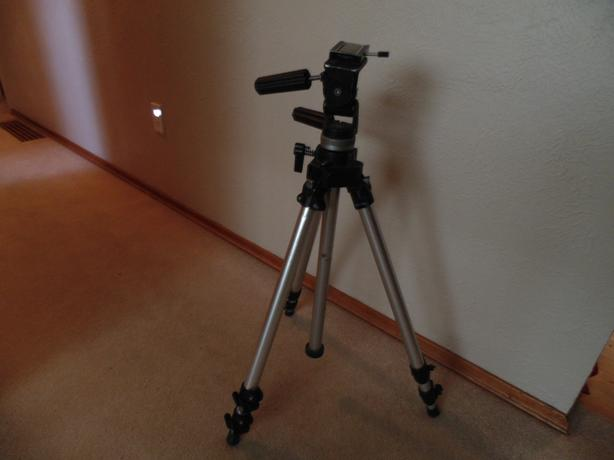 Manfrotto model 055 tripod with head