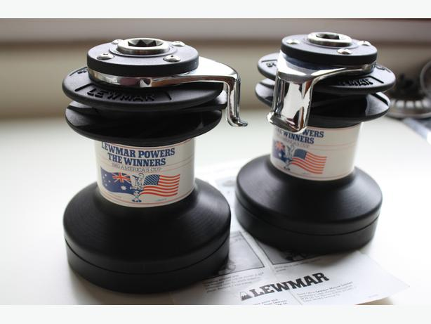 Lewmar Wavegrip 16 ST winches never used pair