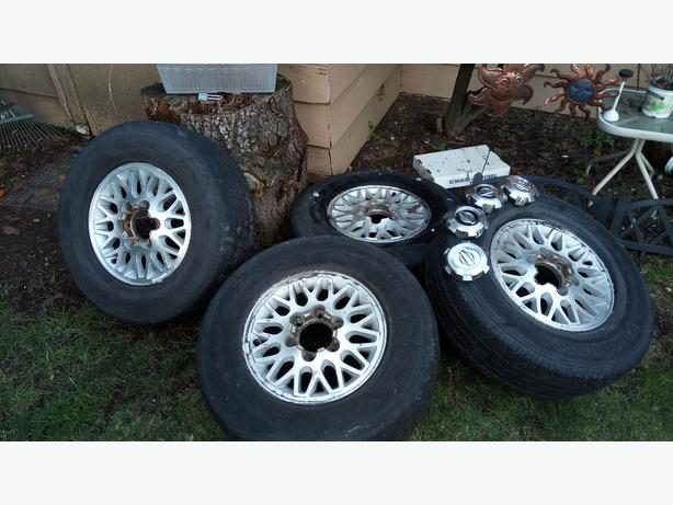 Nissan Pathfinder Alloy Rims