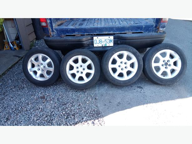 Chrysler Alloy Rims and Tires