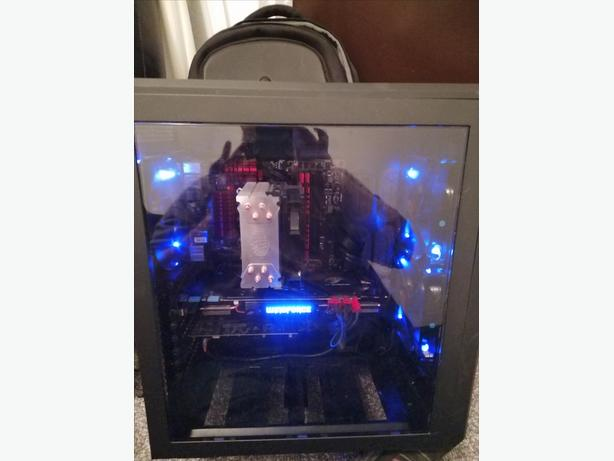 Custom built Gaming rig plus extras.