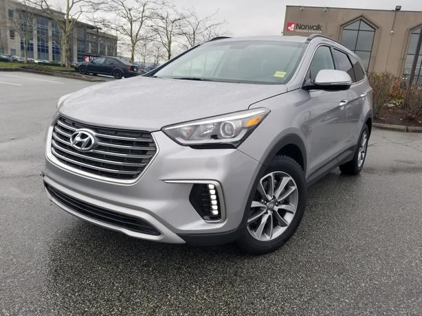 2018 Hyundai Santa Fe XL V6 All-Wheel Drive
