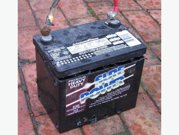 FREE: pickup of your unwanted/dead car batteries