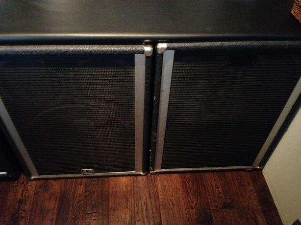 2 - Peavey 1810 Bass Cabinets