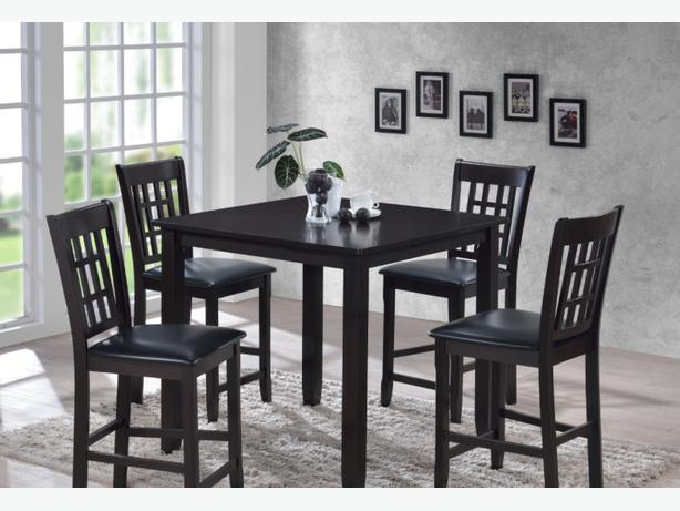 Hardwood Counter Height Dining Set-New-Taxes/ Delivery Included!!