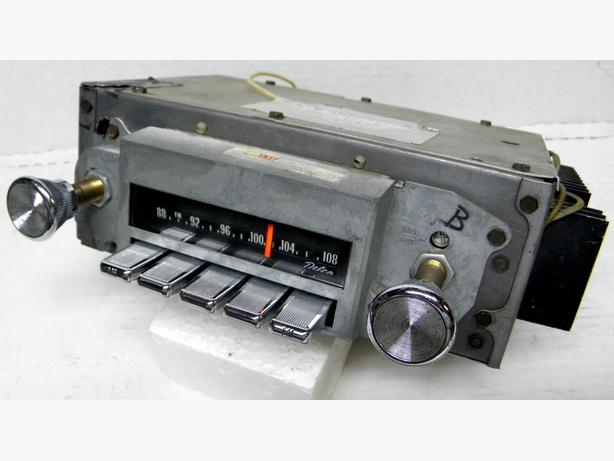 1969 70 71 Pontiac AM FM Radio GTO Judge LeMans Full Size