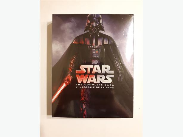 Star Wars: The Complete Saga on Blu-ray (9-Disc Set) - Brand New