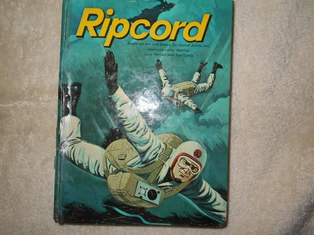 Vintage 1960's Ripcord Child's Book