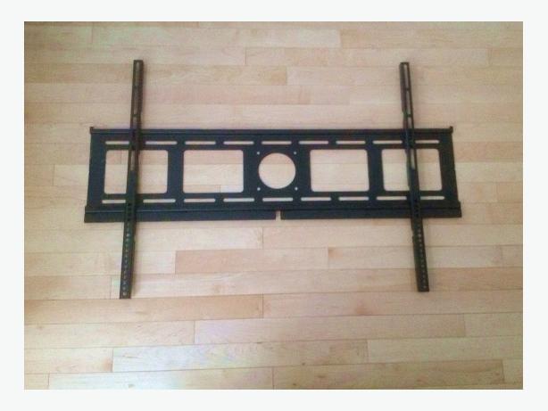 Jumbo huge flat panel TV wall mount