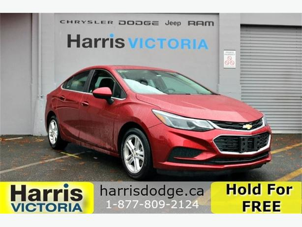 2017 Chevrolet Cruze LT, One Owner, No Accidents, Bluetooth!