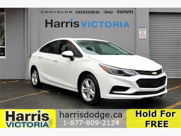 2017 Chevrolet Cruze LT, No Accidents, Backup Cam!