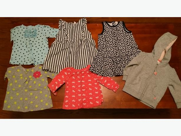 Box of 9 month girl clothes