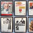 Framed Vintage Magazine Ads