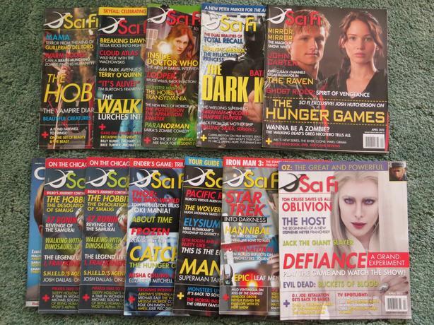 SciFi Magazines