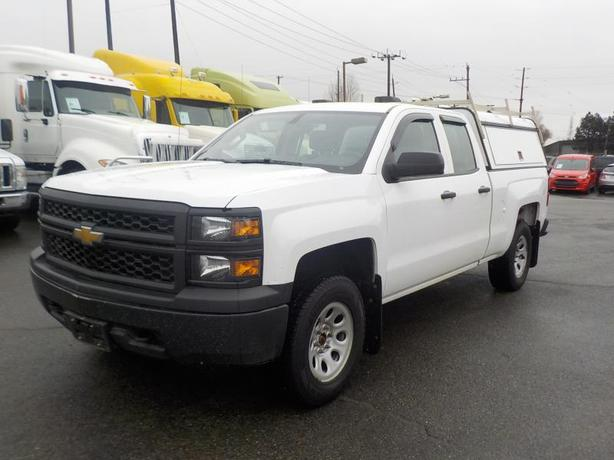 2015 Chevrolet Silverado 1500 4 Door Double Cab 4WD