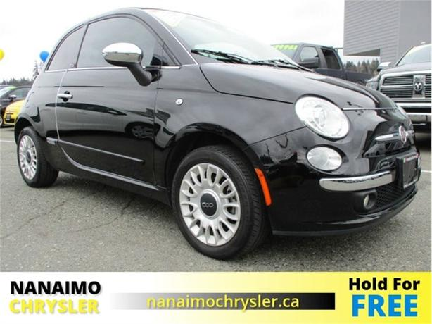 2015 FIAT 500c Lounge Low Kilometers Heated Seats