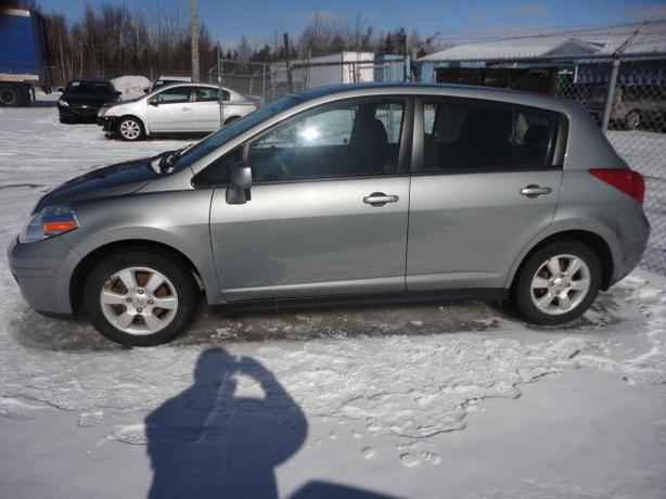 10 NISSAN VERSA SL, 4500 REPAIRED WITH WARRANTY, 73000 KMS