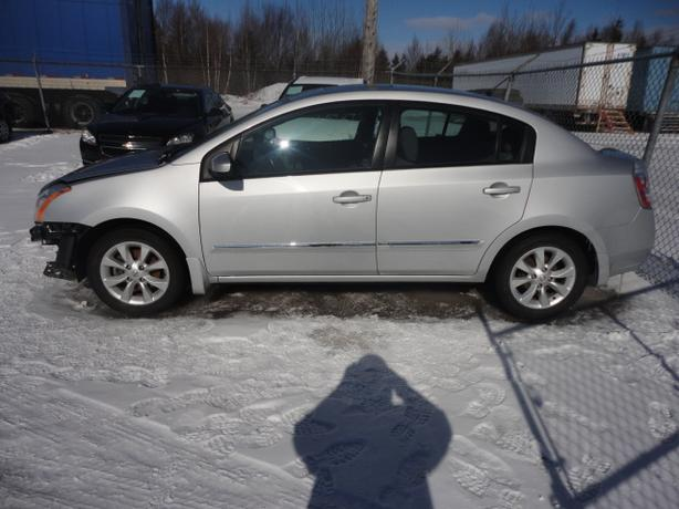 2010 NISSAN SENTRA, 4500 REPAIRED, WITH WARRANTY, ONLY 93000 KMS