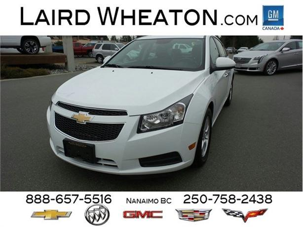 2014 Chevrolet Cruze LT Automatic, Gas, Low Kms