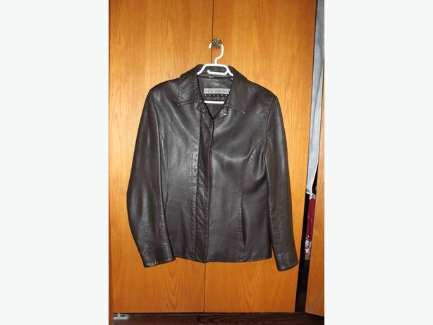 Bod and Christensen couture leather jacket W 10
